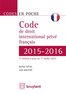 code droit international privé 2015