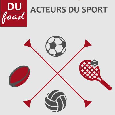 Logo DU Acteurs du sport 20-21