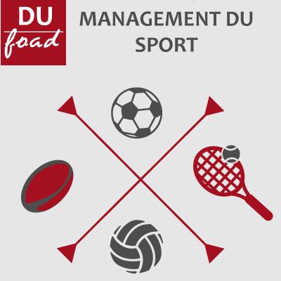 Logo DU Management du sport 20-21