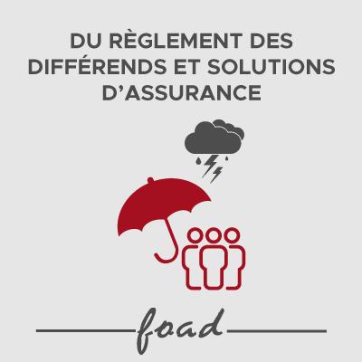 Logo DU FOAD reglements des differends - 21-22