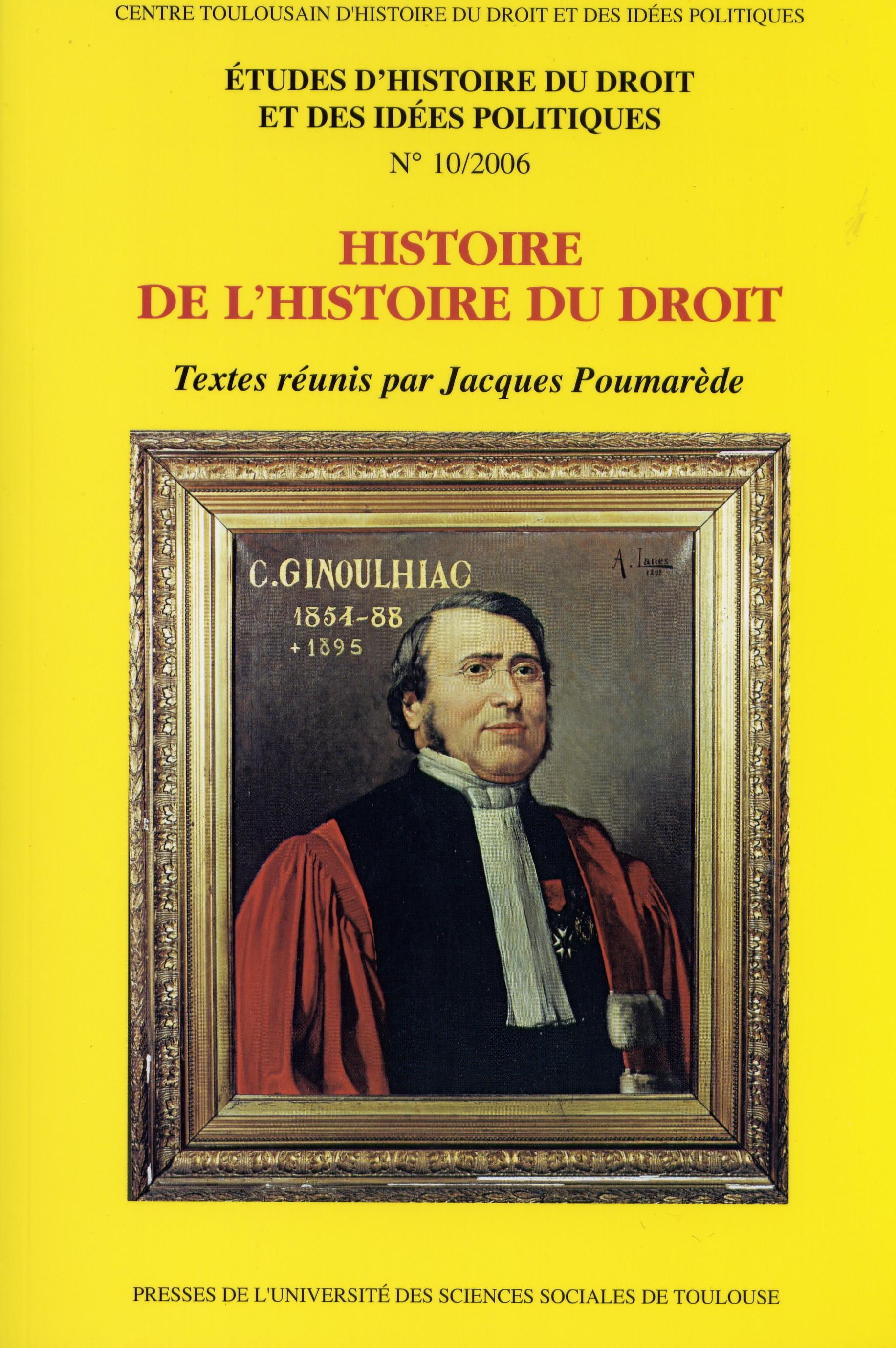 L histoire du droit