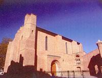 Saint Pierre des cuisines, façade de l'église