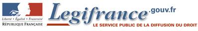 Logo Légifrance