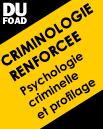 Diplôme universitaire criminologie renforcée foad