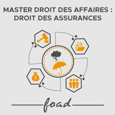 Logo Master Droit des affaires assurances  21-22