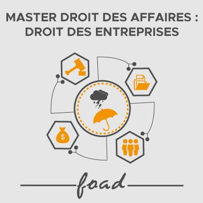 Logo Master Droit des affaires entreprises 21-22