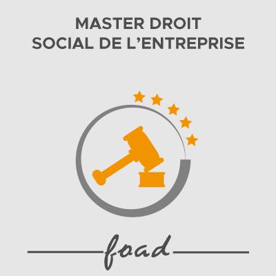 Logo Master Droit Social de l'entreprise 21-22