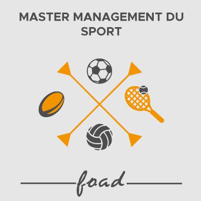 Logo Master management du sport 21-22