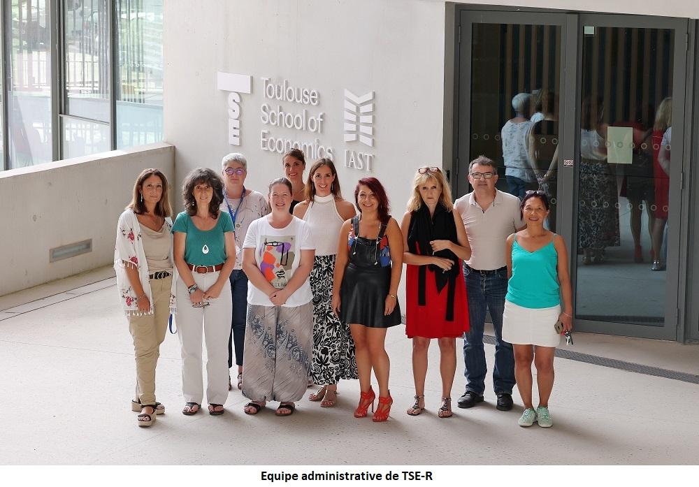 Equipe administrative de TSE-R