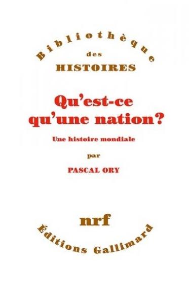Pascal Ory de l'Académie française : « Qu'est-ce qu'une nation ? »